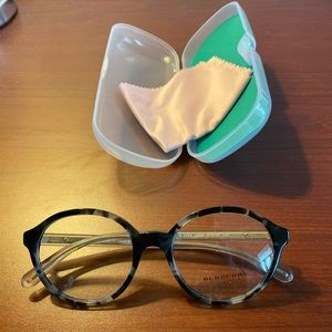 Burberry Eyeglass Frames Round BE2254 Gray
